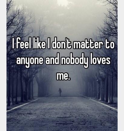 Nobody Loves Me Nobody Cares Vantashia Shontale My Sisters